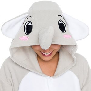 Elephant Adult Costume Pajamas: gifts for elephant lovers