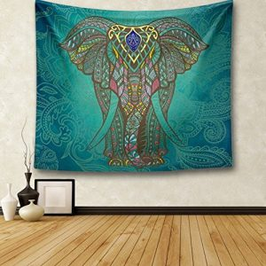 Elephant Bohemian Wall Hanging Tapestry: gifts for elephant lovers