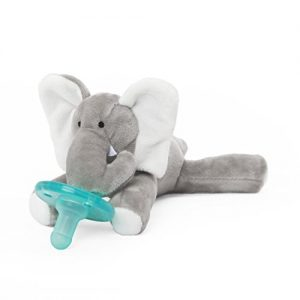 Wubbanub Elephant Pacifier: gifts for elephant lovers