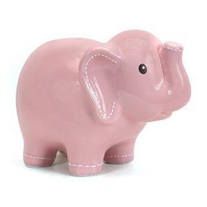 Child-To-Cherish Large Stitched Elephant Bank: Gifts for elephant lovers